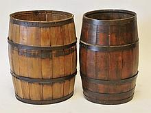 Two Oak Barrels