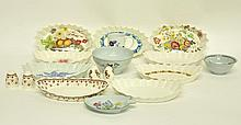 17 Various Copeland Spode Dishes