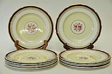 Set of 11 Johnson Brothers Pareek Plates