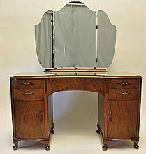 Art Deco Dresser w/ Mirror