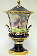 Large Caverswall Lidded Urn