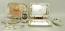 Collection of Silverplate Tableware