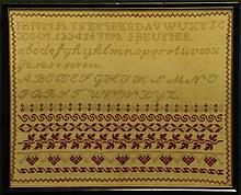 Two 19th Century Samplers