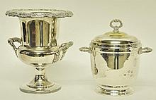 Silverplate Champagne and Ice Buckets