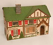 American Two-Story Dollhouse