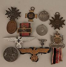Lot of German Badges/Medals, WWI & WWII