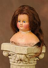 Early Wax Doll Head