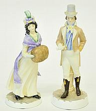 Pr. Royal Worcester Bone China Figurines