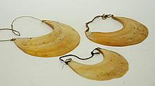 3 Abalone African Necklaces