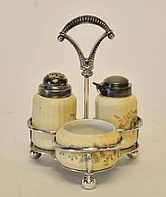 Simpson, Hall, Miller & Co. Condiment Set