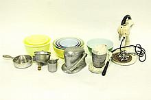 Assortment Vintage Kitchen