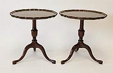 Pair of Mahogany Tea Tables