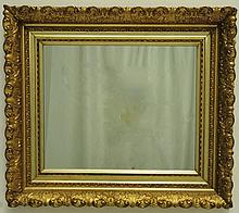 19th C. Gilt Wood & Gesso Frame