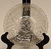 Rare Pattern American Pressed Glass Bowl
