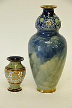 2 Royal Doulton Vases