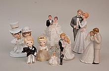 7 Bride/Groom Figures