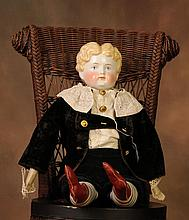 Large China Head Boy Doll