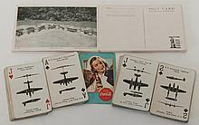 WWII Era Coca-Cola Cards & Post Cards