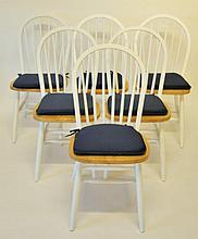 Six Windsor Chairs