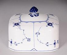 Royal Copenhagen Blue Fluted Cheese Dome