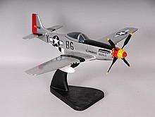 Glamorous Glen III P-51 Mustang Model Plane