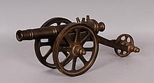 Brass Model of a Cannon