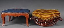 2 Victorian Era Footstools