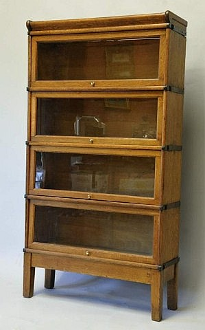 Globe Wernicke 4-Stack Barrister Bookcase