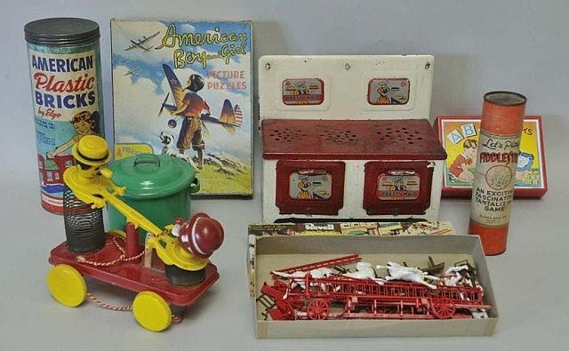 Lot of Mid-Century Toys
