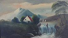 19th C. American Oil Painting, Signed Webster