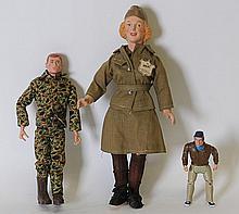WAAC and GI Joe Dolls, Action Figure