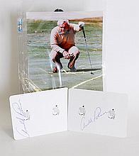 Arnold Palmer Autographs