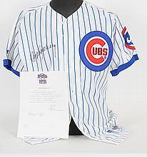 Ryne Sandberg Signed Cubs Jersey