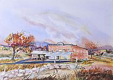 South Carolina Watercolor