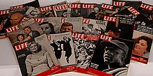21 Life Magazines, 1940s and 1950s
