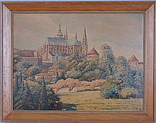 Painting of Notre Dame