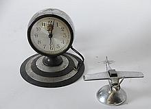 Airplane Lighter & Chevrolet Headlight Clock