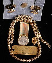 Gold Add-A-Bead Necklace, Other Jewelry