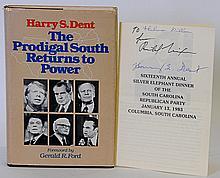 Richard Nixon & Harry S. Dent Autographs