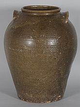 Large Edgefield Stoneware Storage Jar