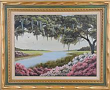 4 Shirley Carroll (Charleston, 20th C.) Paintings