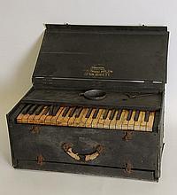 Portable A. L. White Pipe Tone Folding Organ