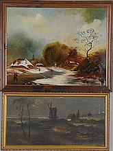 Two 19th Century Landscape Paintings