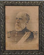 Lithograph Portrait of Gen. Joseph Wheeler