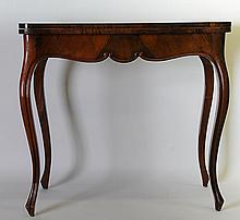 French Louis XV Style Carved Games Table