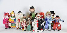 Emmett Kelly Willie the Clown & Other Clown Dolls