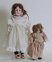 2 Kestner Bisque Dolls