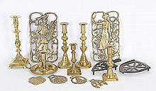 Lot of Brass & Other Items