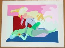 Robert Bertone, Beautiful Dreamer, Signed Serigraph