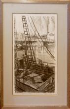 Caldwell Frank (American 20th c) Fishing Boat